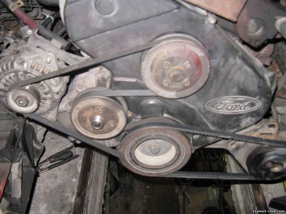 замена ремня грм ford transit мотор 4gc