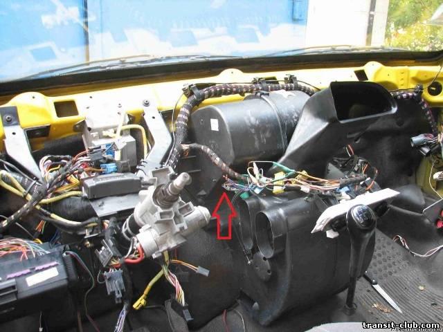 Печка форд транзит схема фото 638