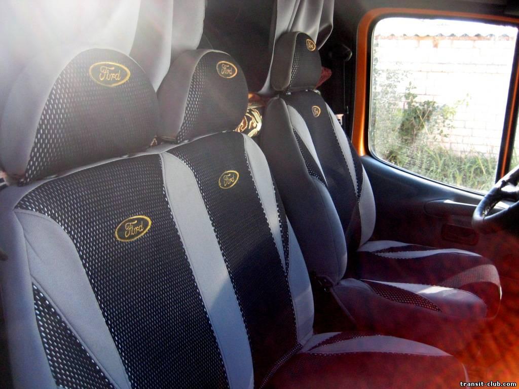 чехлы на форд транзит