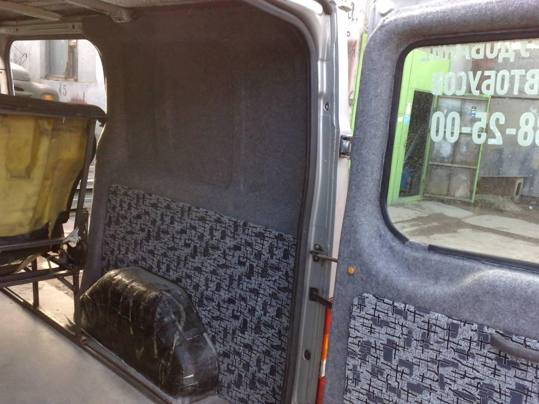 Как обшить микроавтобус своими руками 45
