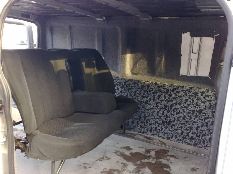 Обшивка салона своими руками форд транзит