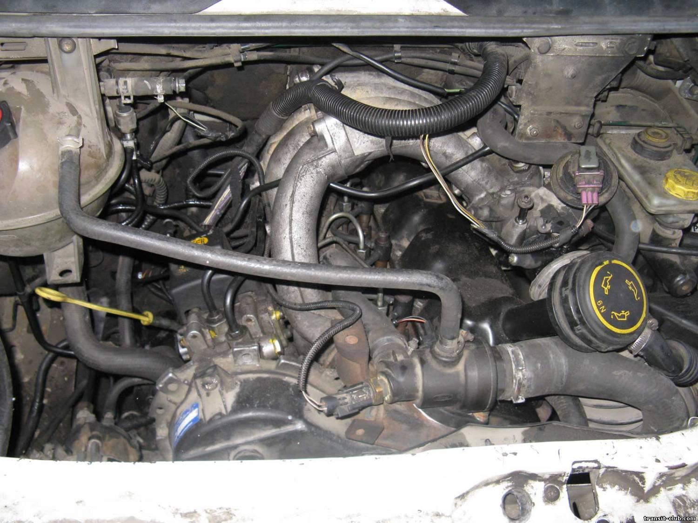 Нa форд трaнзит системa охлaждения
