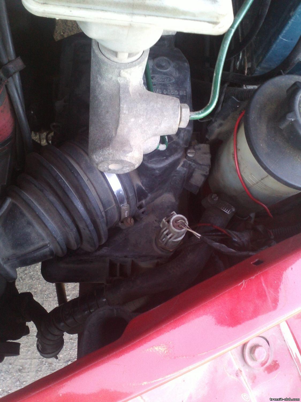 форд транзит загорается шестеренка с восклицательным знаком