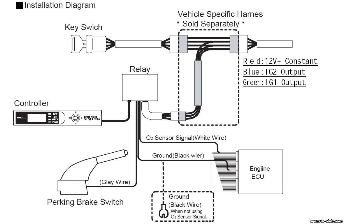 Установка турботаймера на дизельные автомобили своими руками 48
