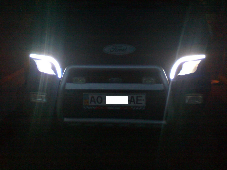 Фонарь задний форд транзит светодиодный 9 фотография